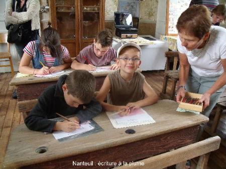 Nanteuil écriture plume